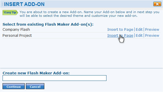 Flash Maker