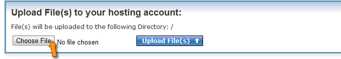 File Manager Upload File